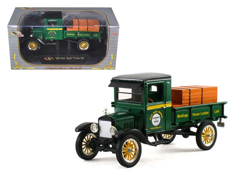 1923 Ford Model TT Lamber Truck Green 1/32 Diecast Model Car by Signature Models