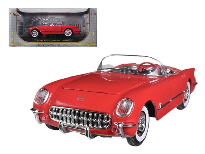 1953 Chevrolet Corvette Red 1/32 Diecast Car Model Signature Models 32429