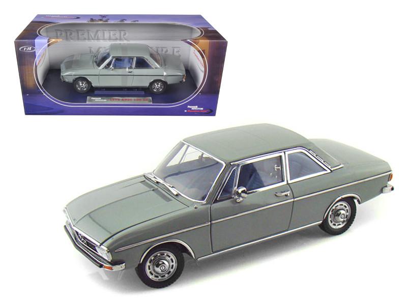 1972 Audi 100 Grey 1/18 Diecast Car Model Signature Models 38211