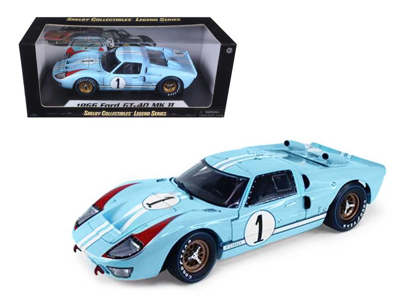Ford Gt  Blue Cast Model Car