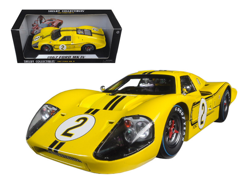 Ford Gt Mk Iv  Yellow Lemans  Hours Mark Donohue B