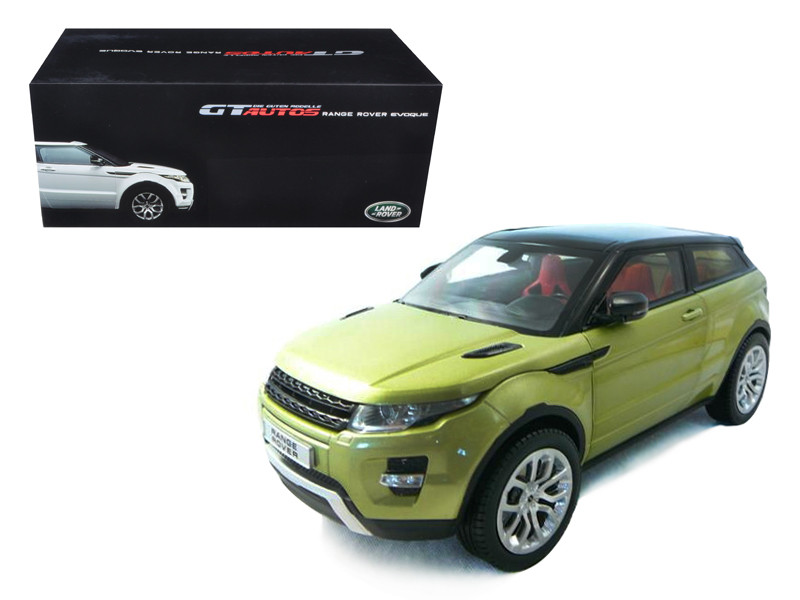 Range Rover Evoque Green 1/18 Diecast Car Model Welly 11003