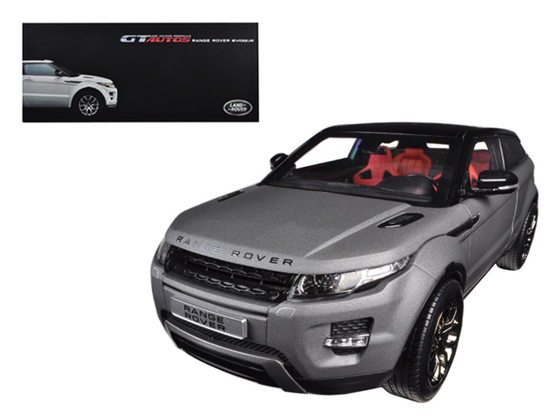 Range Rover Evoque Grey 2 Doors 1/18 Diecast Car Model Welly 11003