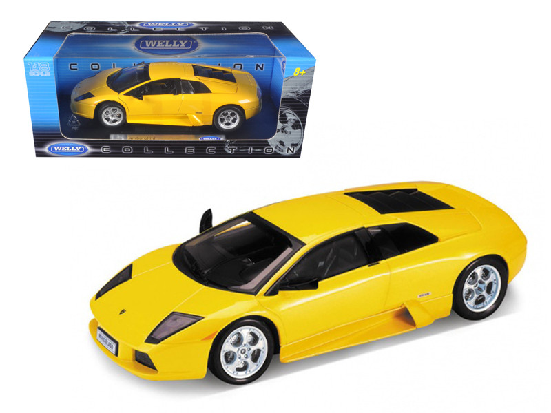Lamborghini Murcielago Yellow 1/18 Diecast Car Model Welly 12517