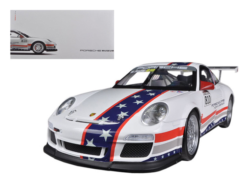 Porsche North America Team 911 GT3 CUP USA # 810 Museum Collection 1/18 Diecast Car Model Welly 18033