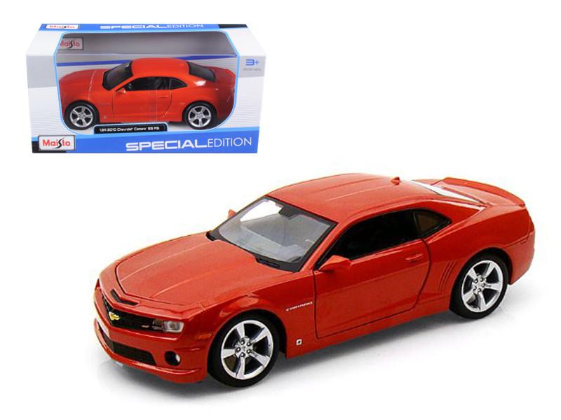2010 Chevrolet Camaro RS SS Orange 1/24 Diecast Model Car Maisto 31207