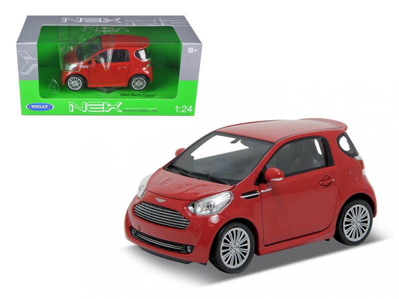 Aston Martin Cygnet Red 1/24 Diecast Car Model Welly 24028