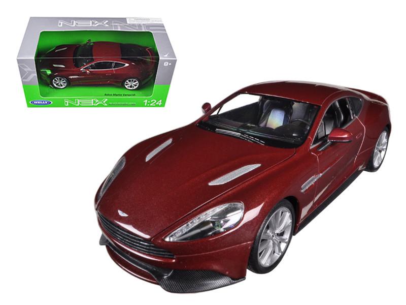 Aston Martin Vanquish Bronze 1/24 Diecast Car Model by Welly