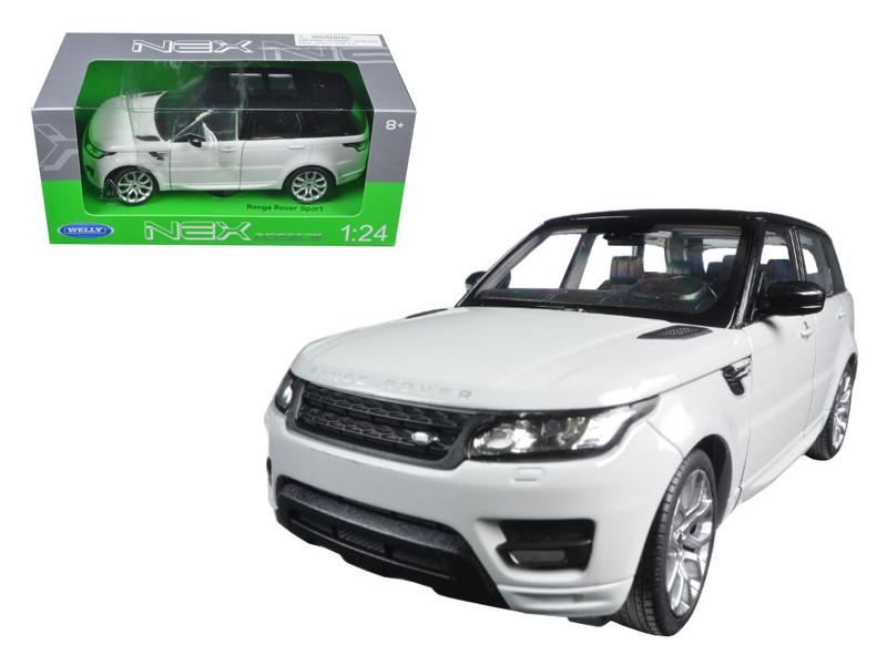 Range Rover Sport White 1/24 Diecast Model Car Welly 24059