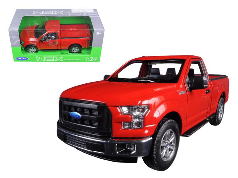 2015 Ford F-150 Pickup Truck Regular Cab Red 1/24 Diecast Model Welly  sc 1 st  Diecastdropshipper & Diecast Model Cars wholesale toys dropshipper drop shipping 2015 ... markmcfarlin.com