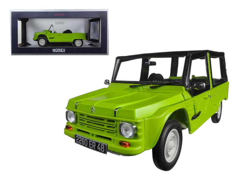 1983 Citroen Mehari Tibesti Green 1/18 Diecast Model Car Norev 181519