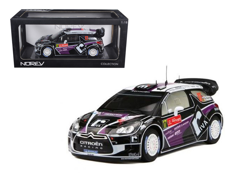 Citroen DS3 #17 WRC Rally Portugal 2012 Merksteijn Jr / Chevallier 1/18 Diecast Car Model Norev 181559