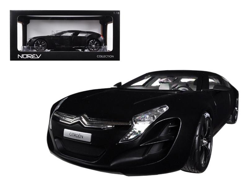 2006 Citroen C Matisse Black 1/18 Diecast Car Model Norev 181597