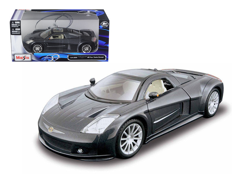 Chrysler Me Four Twelve Gray 1/24 Diecast Model Car Maisto 31250