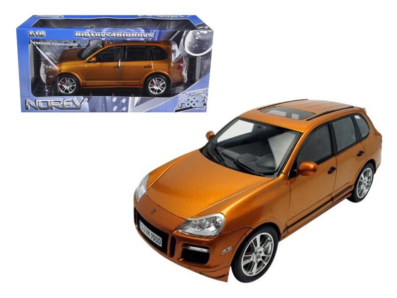 Porsche Cayenne GTS Metallic Orange 1/18 Diecast Car Model Norev 187535