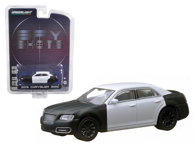 """2013 Chrysler 300 """"Spy Shot"""" Hobby Exclusive in Blister Pack 1/64 Diecast Car Model Greenlight 29777"""