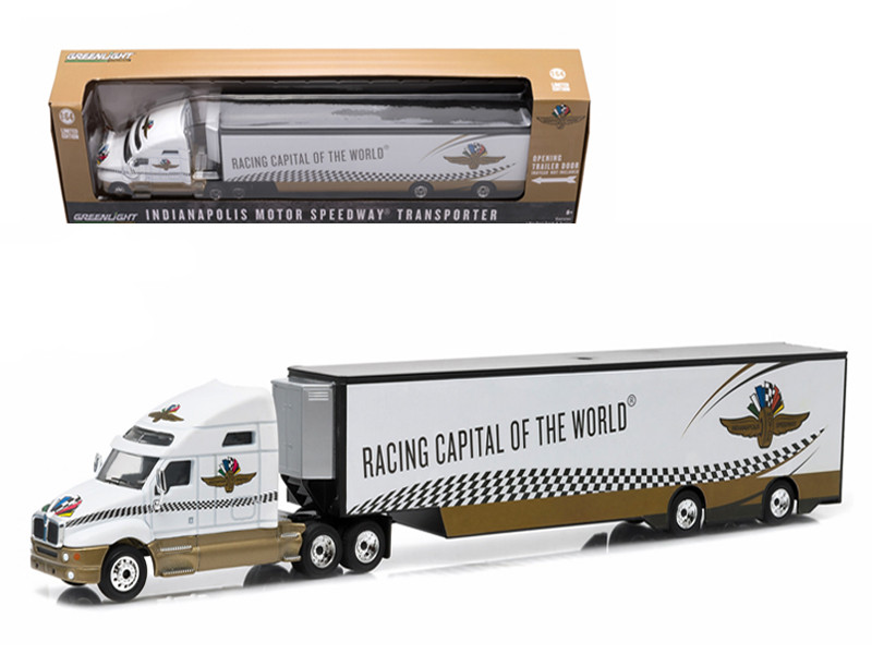 2015 Kenworth T2000 Transporter Indianapolis Motor Speedway 1/64 Diecast Model by Greenlight
