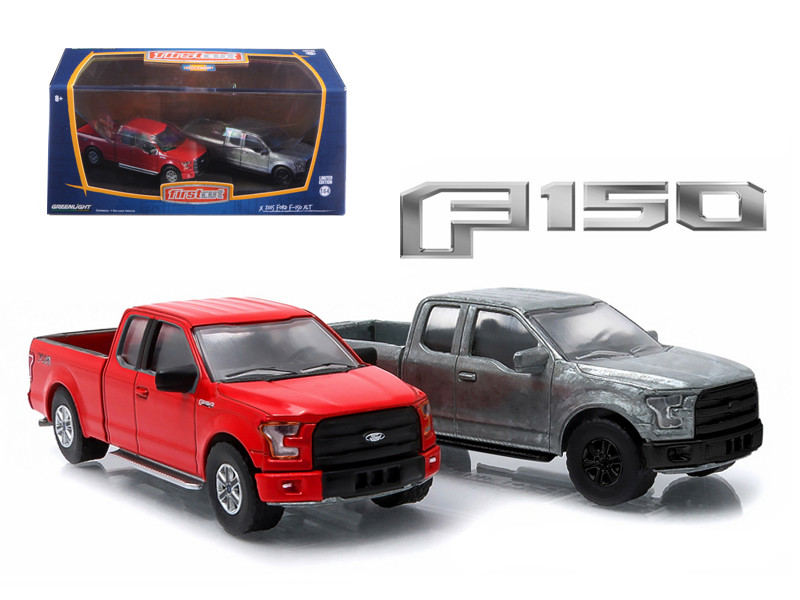 Ford F  Pickup Trucks Hobby Only Exclusive  Cars Set
