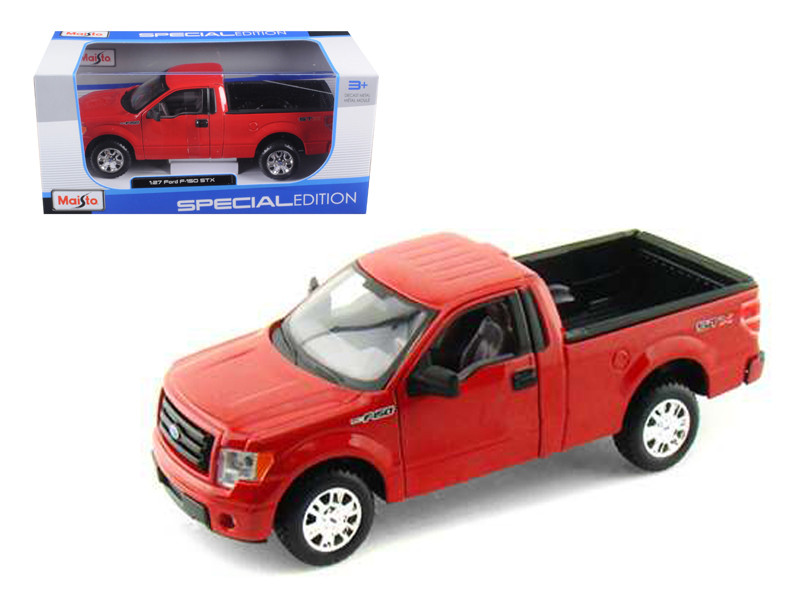 2010 Ford F-150 STX Pickup Truck Red 1/27 Diecast Model Maisto 31270