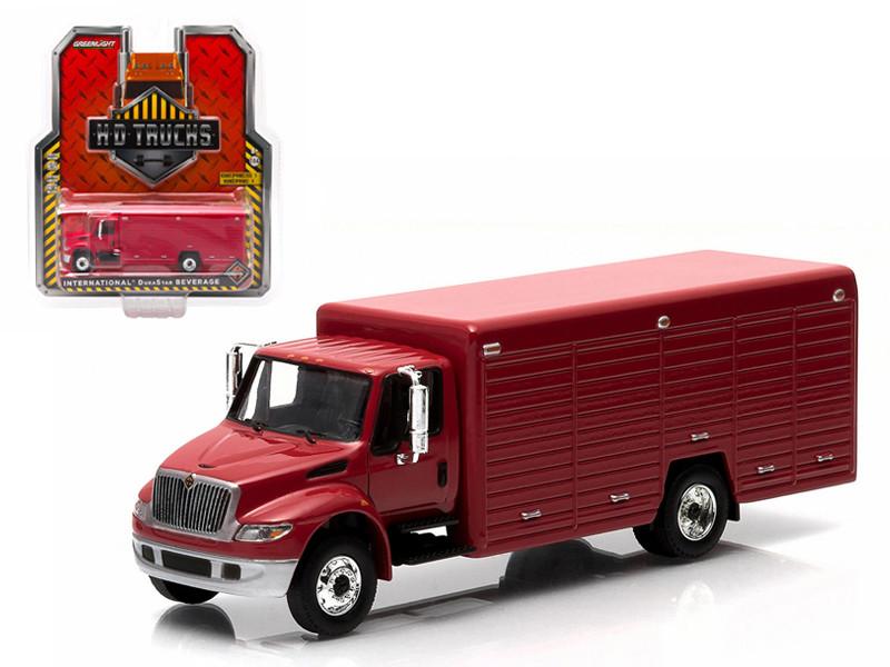 2013 International Durastar 4400 Beverage Truck Red 1/64 Diecast Model by Greenlight