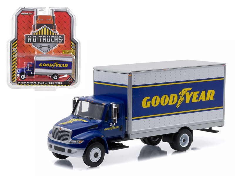 2013 International Durastar 4400 Good Year Delivery Truck HD Trucks Series 5 1/64 Diecast Model Greenlight 33050 B