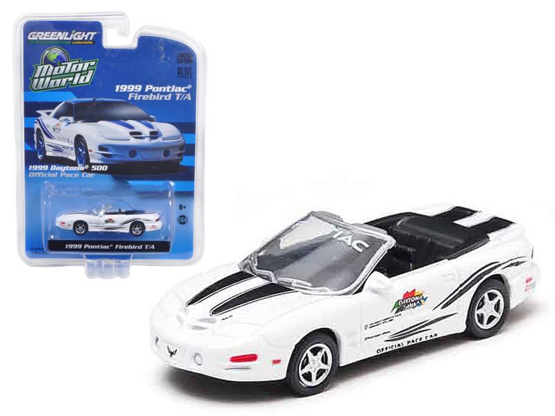 1999 Pontiac Firebird Trans Am 30th Anniversary Daytona 500 Pace Car 1/64 Diecast Model Car by Greenlight