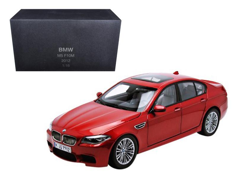 2012 BMW M5 (F10M) Sakhir Orange 1/18 Diecast Model Car Paragon Models
