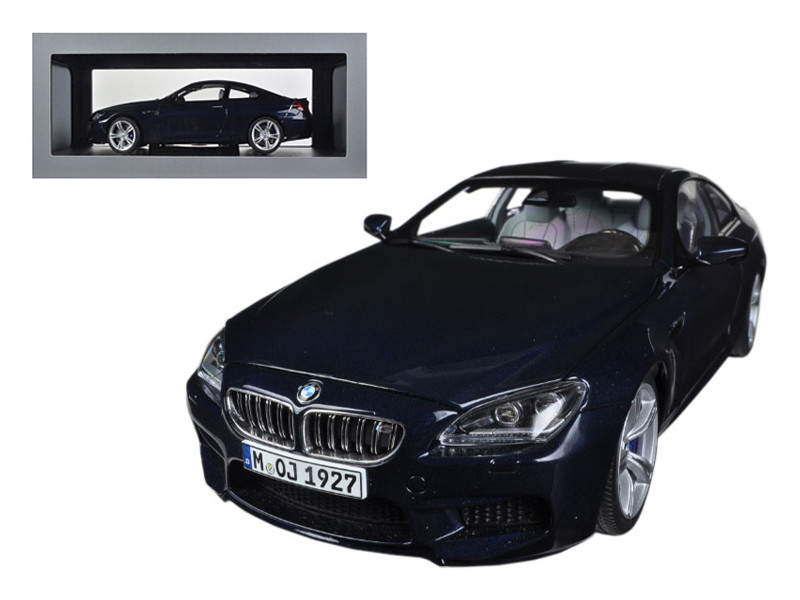 BMW M6 F13M Coupe Imperial Blue 1/18 Diecast Car Model Paragon 97052