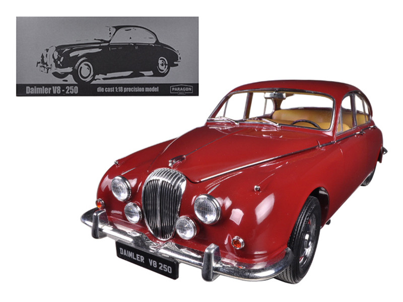 1967 Daimler V8-250 Regency Maroon Limited to 3000pc 1/18 Diecast Model Car Paragon 98312
