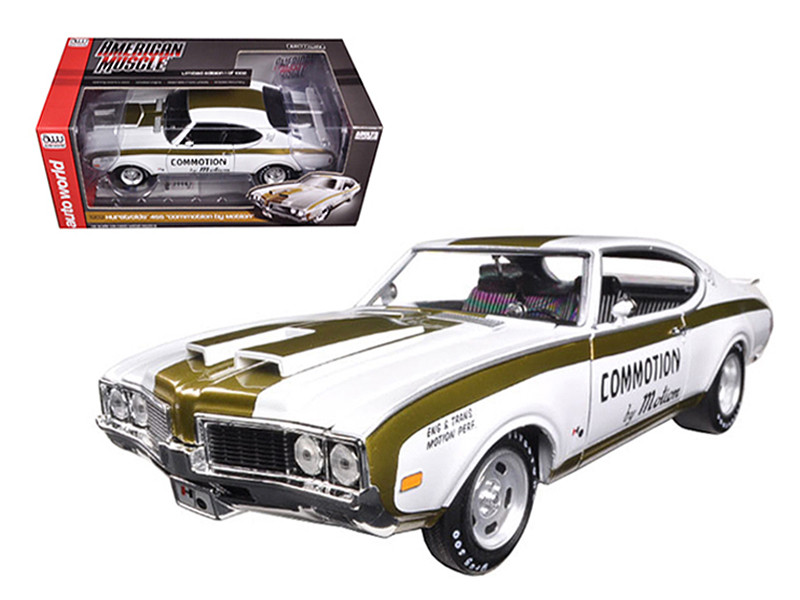 1969 Hurst Oldsmobile 455 Commotion by Motion Limited Edition to 1002pc 1/18 Diecast Model Car by Autoworld