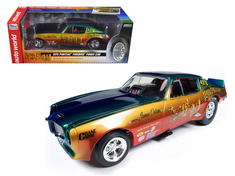 1970 Pontiac Firebird Don Gay NHRA Funny Car 1/18 Diecast Model Car Autoworld AW206