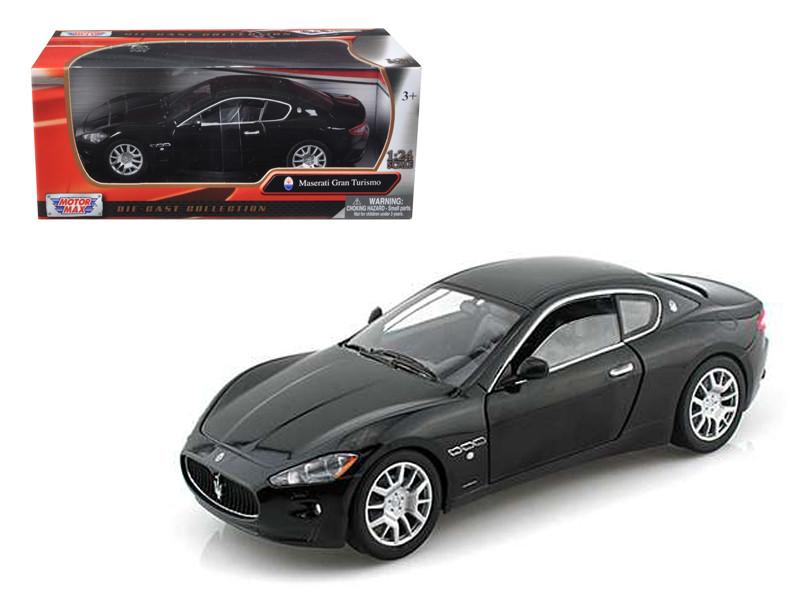 Maserati Gran Turismo Black 1/24 Diecast Car Model by Motormax
