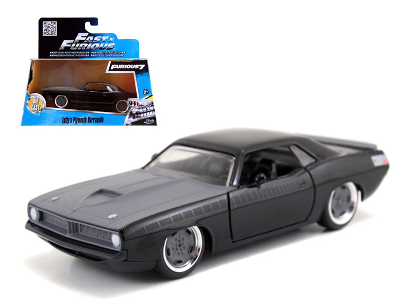 "Letty's Plymouth Barracuda ""Fast & Furious 7"" Movie 1/32 Diecast Model Car Jada 97206"