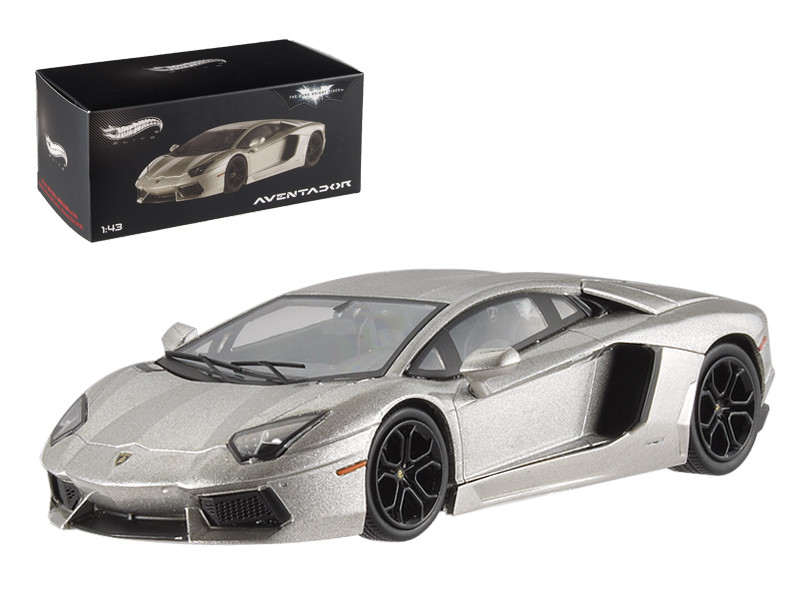 "Lamborghini Aventador LP700-4 ""The Dark Knight Rises"" Elite Edition 1/43 Diecast Model Car Hotwheels BCK06"