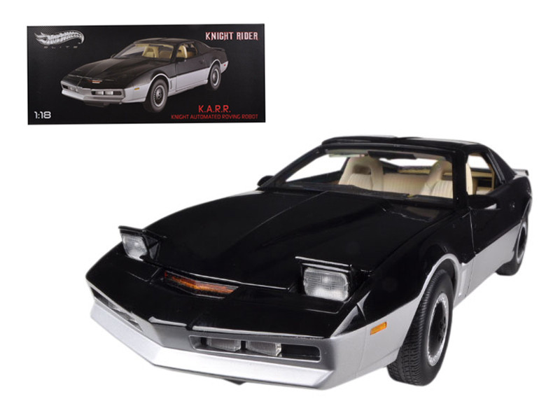 1982 Pontiac Trans Am KARR Elite Edition 1/18 Diecast Car Model  Hotwheels BCT86