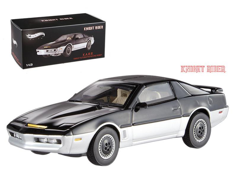 1982 Pontiac Firebird Trans Am K.A.R.R. Knight Automated Roving Robot Elite Edition 1/43 Diecast Model Car Hotwheels BCT87