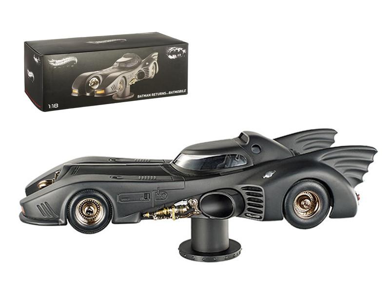 Elite 1992 Batman Returns Batmobile Cutl Classics Michael Keaton 1/18 Diecast Car Model by Hotwheels