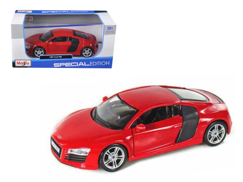 Audi R8 Red 1/24 Diecast Model Car Maisto 31281