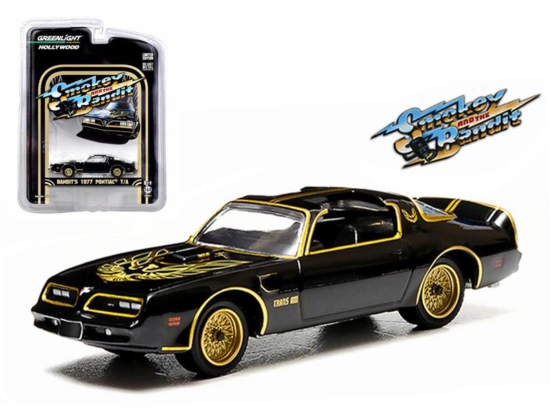 1977 Pontiac Trans Am Smokey and the Bandit (1977) 1/64 Diecast Model Car Greenlight 44710A