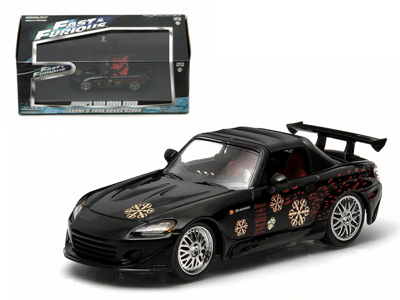 Johnny\'s 2000 Honda S2000 Black \The Fast and The Furi