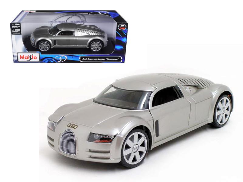 Audi Rosemeyer Wagon Silver 1/18 Diecast Model Car Maisto 31625