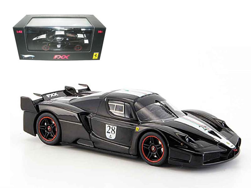 Ferrari Enzo FXX Diecast Car Model Black #28 Elite Limited Edition 1/43  Diecast