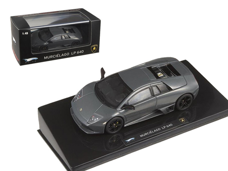Lamborghini Murcielago LP 640 Gray Elite Edition 1/43 Diecast Model Car Hotwheels P4883