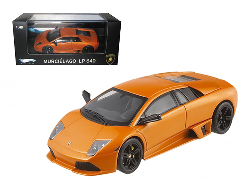 Lamborghini Murcielago LP 640 Orange Elite Edition 1/43 Diecast Model Car Hotwheels P4884