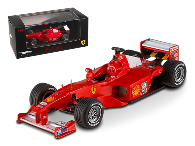 Ferrari F1-2000 Michael Schumacher Japan GP 2000 Elite Edition 1/43 Diecast Model Car Hotwheels V8379