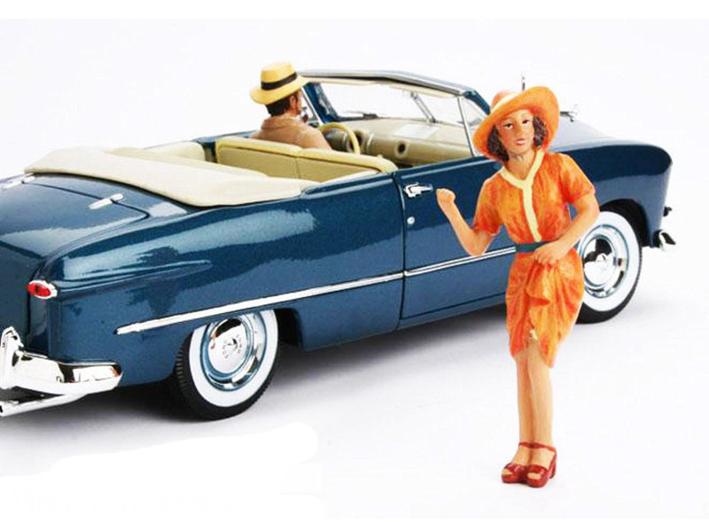 1950\'s Figure Patricia For 1:18 Diecast Model Cars by American Diorama
