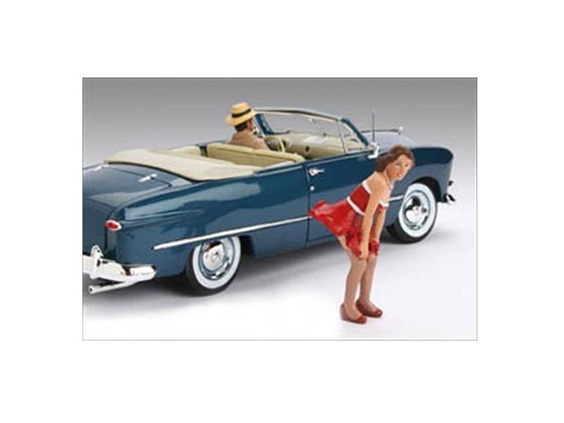 1950\'s Figure Deborah For 1:18 Diecast Model Cars by American Diorama