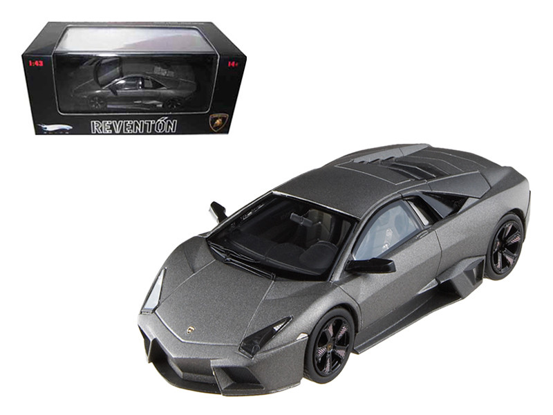 Lamborghini Reventon Flat Black Elite Limited Edition 1/43 Diecast Model Car Hotwheels N5582