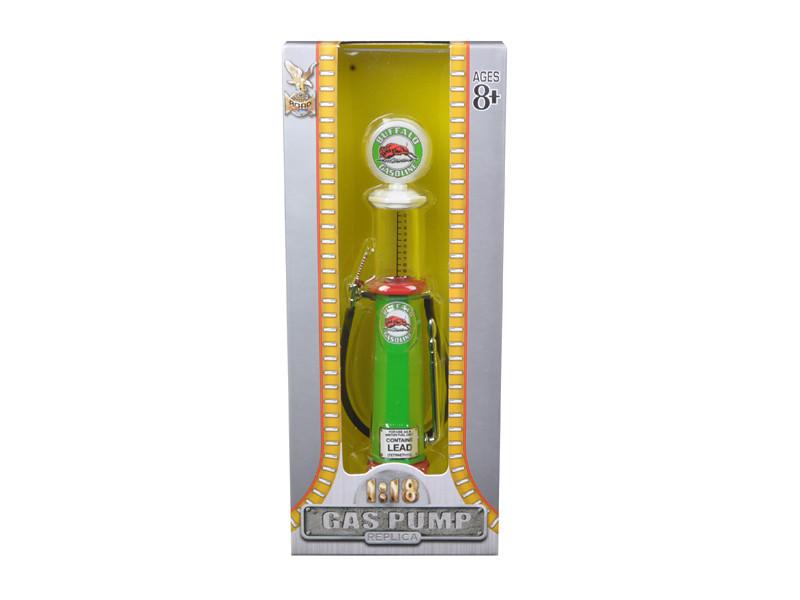 Buffalo Gasoline Vintage Gas Pump Cylinder 1/18 Diecast Replica Road Signature YM98712