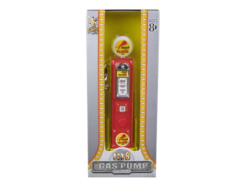 Roar Gilmore Gasoline Vintage Gas Pump Digital 1/18 Diecast Replica Road Signature 98731
